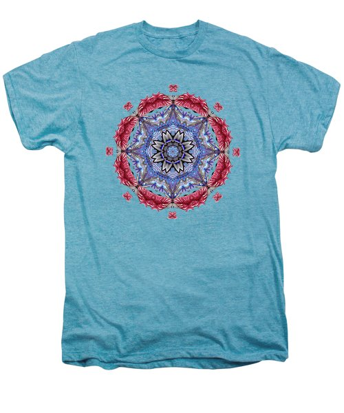 Tropical Mandala By Kaye Menner Men's Premium T-Shirt