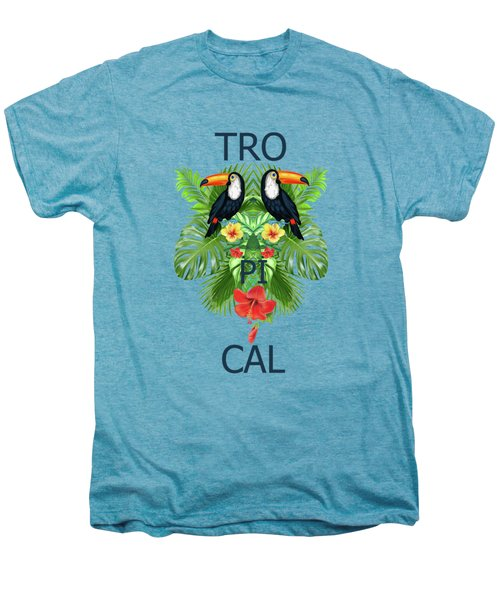 Tropical Summer  Men's Premium T-Shirt