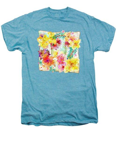 Tropicana Abstract By Kaye Menner Men's Premium T-Shirt