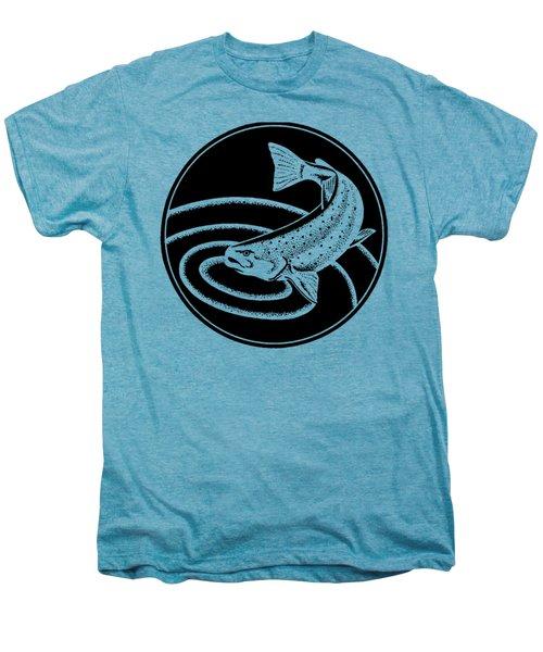 Trout - Tee Shirt Trout Men's Premium T-Shirt by rd Erickson