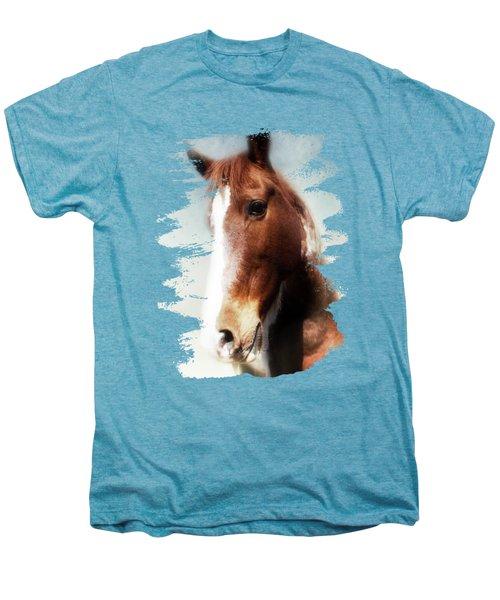 Tumbleweed Sideways Glance Men's Premium T-Shirt by Anita Faye