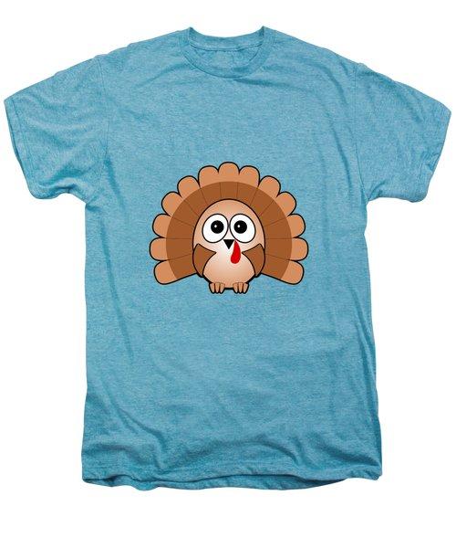 Turkey - Birds - Art For Kids Men's Premium T-Shirt