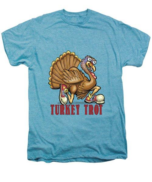 Turkey Trot Men's Premium T-Shirt by Kevin Middleton
