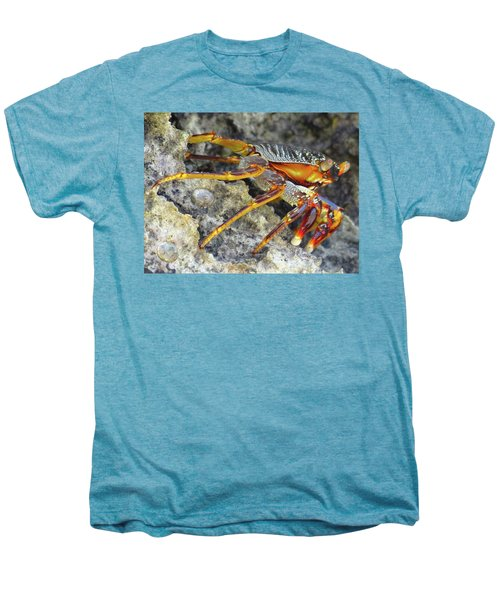 Turtle Bay Resort Watamu Kenya Rock Crab Men's Premium T-Shirt by Exploramum Exploramum