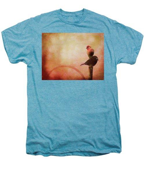 Two Birds In The Mist Men's Premium T-Shirt
