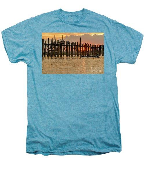 U-bein Bridge Men's Premium T-Shirt by Werner Padarin