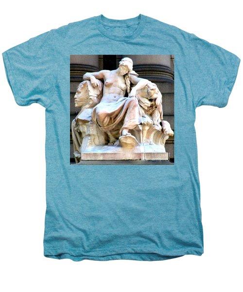 U S Custom House 3 Men's Premium T-Shirt