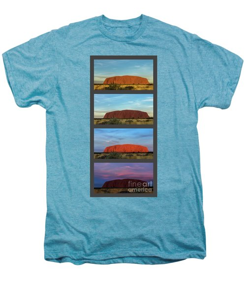 Uluru Sunset Men's Premium T-Shirt