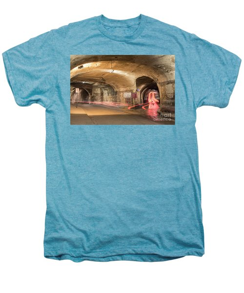 Underground Tunnels In Guanajuato, Mexico Men's Premium T-Shirt