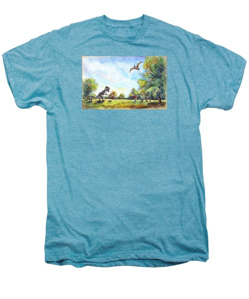 Uninvited Picnic Guests Men's Premium T-Shirt