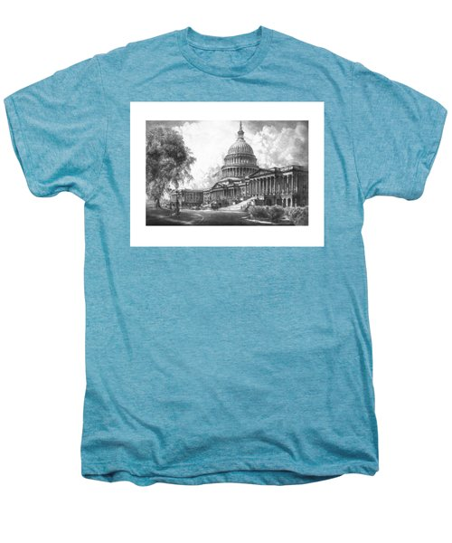 United States Capitol Building Men's Premium T-Shirt by War Is Hell Store