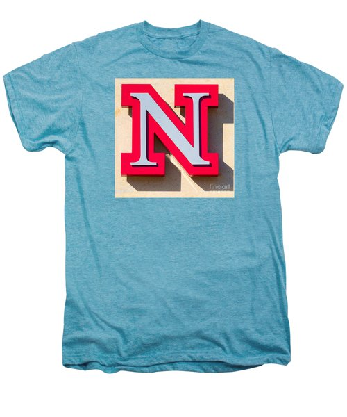 UNL Men's Premium T-Shirt by Jerry Fornarotto