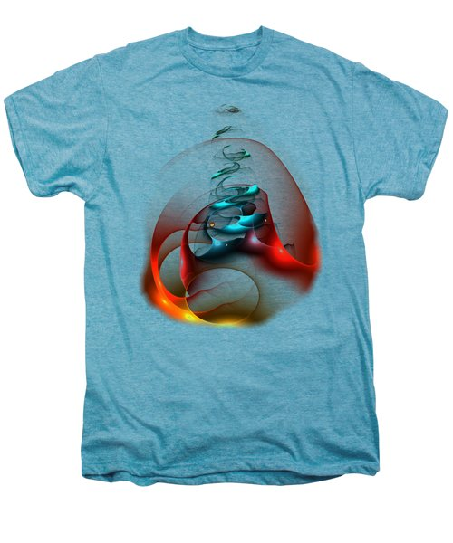 Up In The Air  Men's Premium T-Shirt by Anastasiya Malakhova