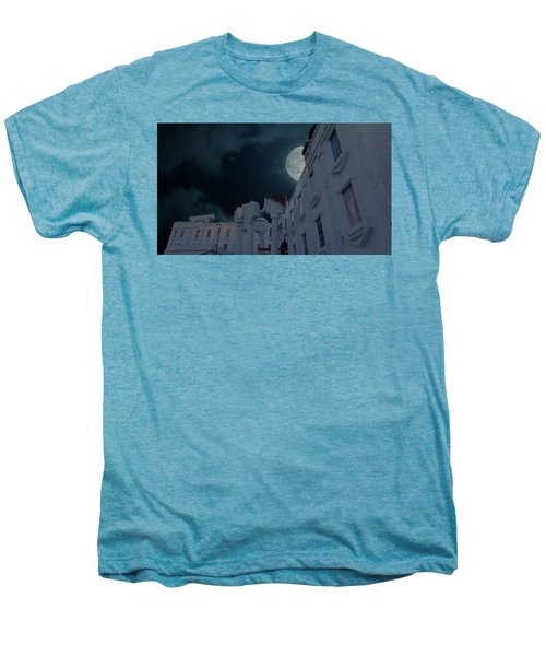 Upside Down White House At Night Men's Premium T-Shirt
