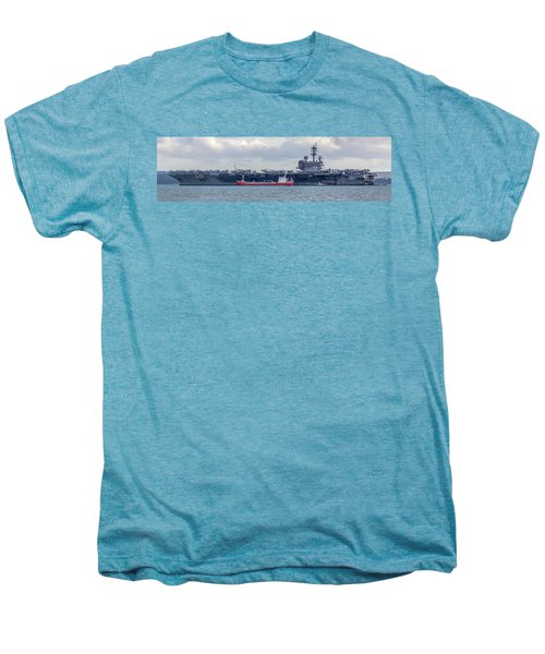Uss George H.w Bush. Men's Premium T-Shirt