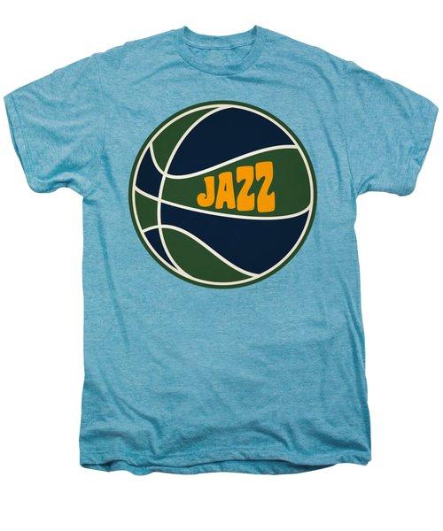 Utah Jazz Retro Shirt Men's Premium T-Shirt by Joe Hamilton