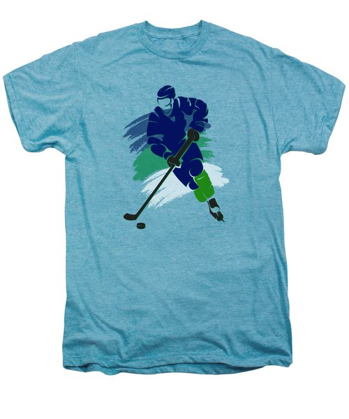 Vancouver Canucks Player Shirt Men's Premium T-Shirt by Joe Hamilton