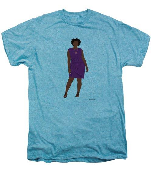 Vanessa Men's Premium T-Shirt by Nancy Levan