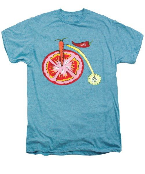 Veggie Bike Men's Premium T-Shirt