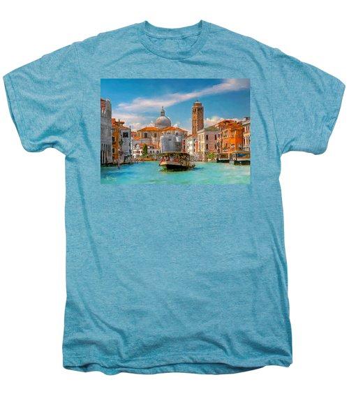Venezia. Fermata San Marcuola Men's Premium T-Shirt
