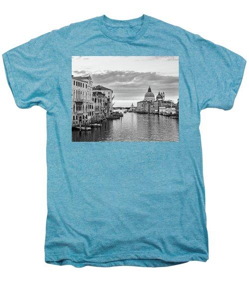 Venice Morning Men's Premium T-Shirt by Richard Goodrich