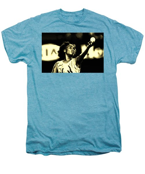 Venus Williams Match Point Men's Premium T-Shirt by Brian Reaves