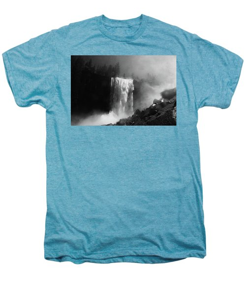 Vernal Fall And Mist Trail Men's Premium T-Shirt