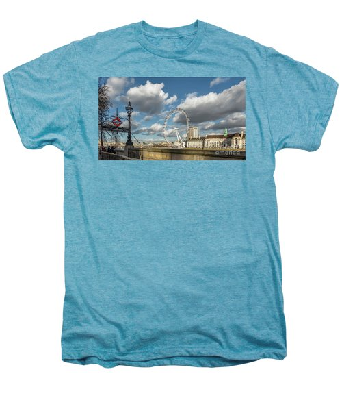 Victoria Embankment Men's Premium T-Shirt by Adrian Evans