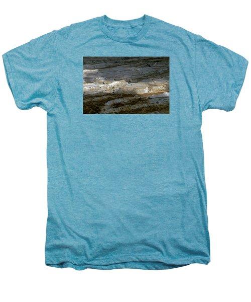 View From Masada Men's Premium T-Shirt by Dubi Roman