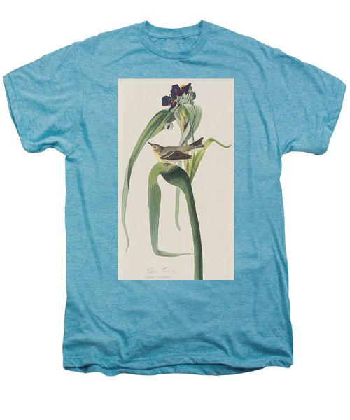 Vigor's Warbler Men's Premium T-Shirt by John James Audubon