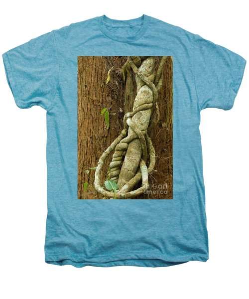 Men's Premium T-Shirt featuring the photograph Vine by Werner Padarin