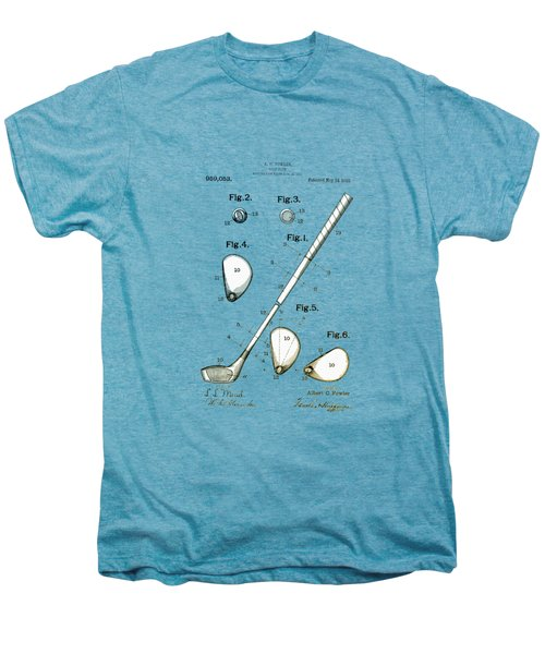 Vintage 1910 Golf Club Patent Men's Premium T-Shirt by Bill Cannon