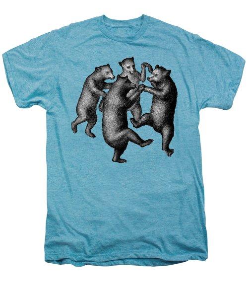 Vintage Dancing Bears Men's Premium T-Shirt by Edward Fielding