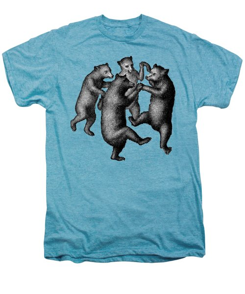 Vintage Dancing Bears Men's Premium T-Shirt