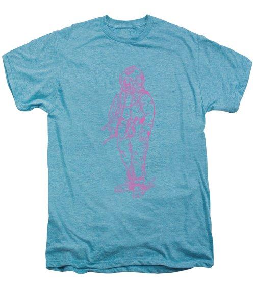 Vintage Diver Men's Premium T-Shirt by Edward Fielding
