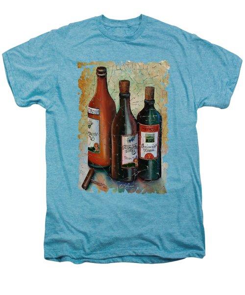 Vintage Georgian Wine Fresco Men's Premium T-Shirt