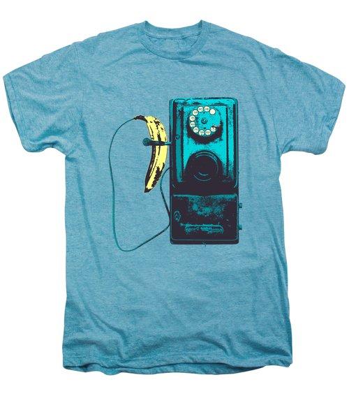 Vintage Public Telephone Men's Premium T-Shirt by Illustratorial Pulse