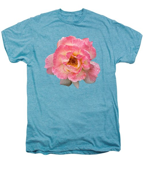 Vintage Rose Square Men's Premium T-Shirt
