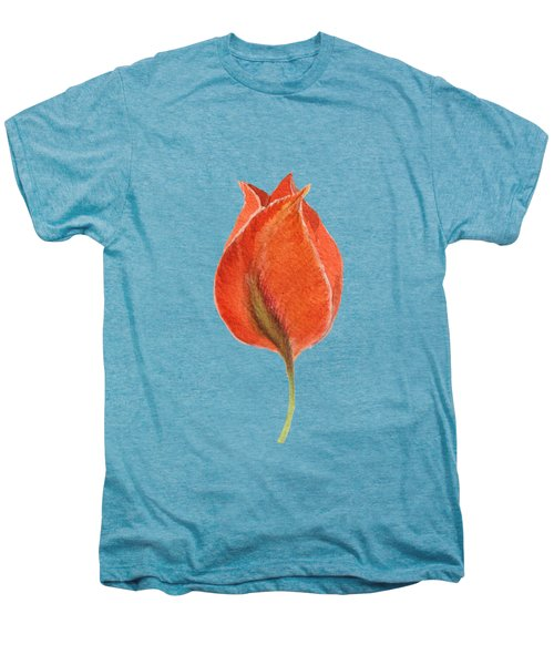 Vintage Tulip Watercolor Phone Case Men's Premium T-Shirt
