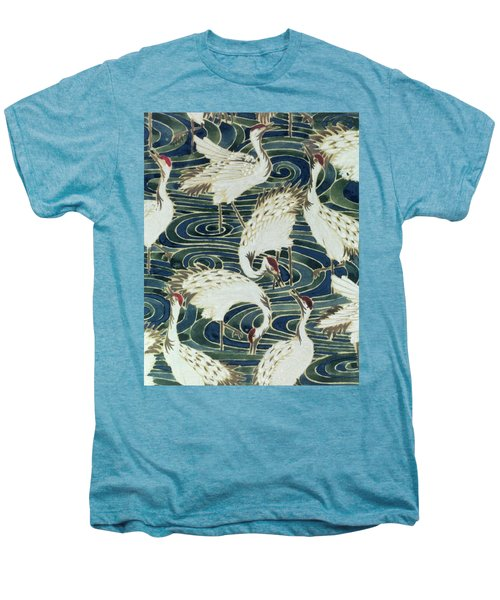 Vintage Wallpaper Design Men's Premium T-Shirt by English School