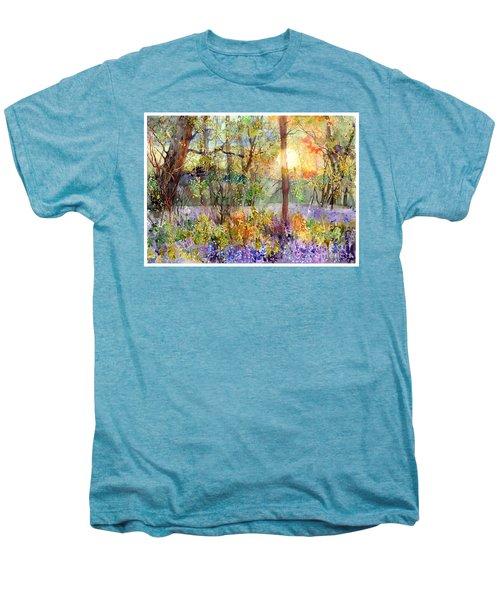 Violet Sunrise Men's Premium T-Shirt