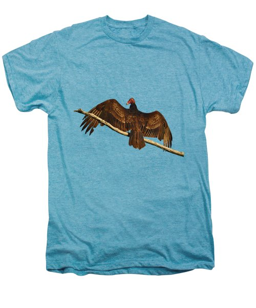 Vivid Vulture .png Men's Premium T-Shirt by Al Powell Photography USA
