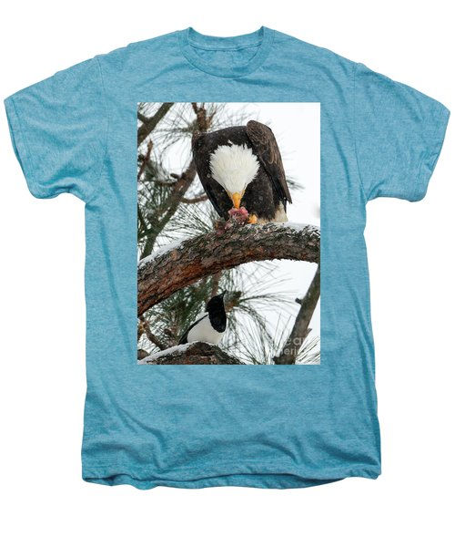Waiting For The Scraps Men's Premium T-Shirt by Mike Dawson