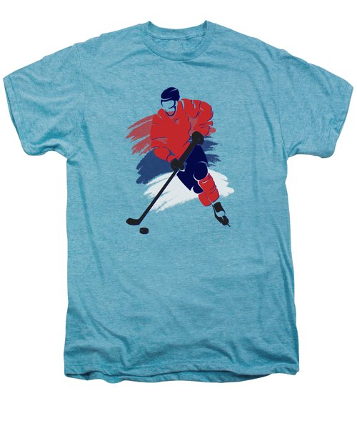 Washington Capitals Player Shirt Men's Premium T-Shirt by Joe Hamilton