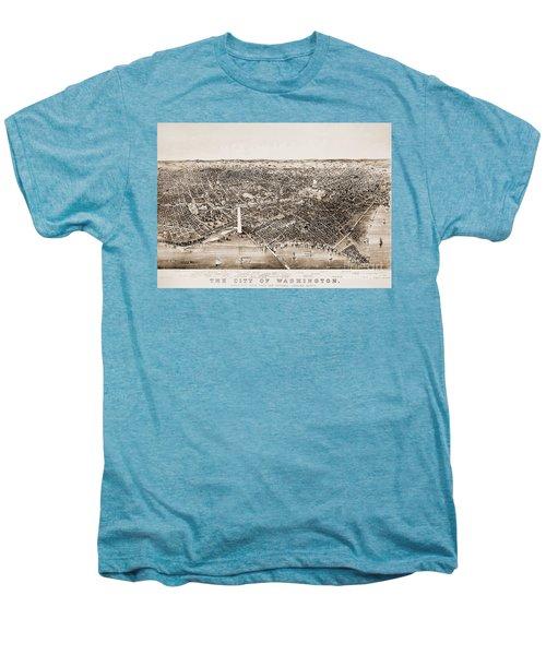 Washington D.c., 1892 Men's Premium T-Shirt by Granger