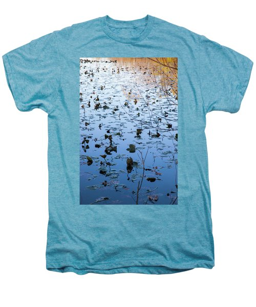 Water Lilies Autumn Song Men's Premium T-Shirt