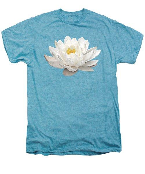 Water Lily Whirlpool Men's Premium T-Shirt by Gill Billington