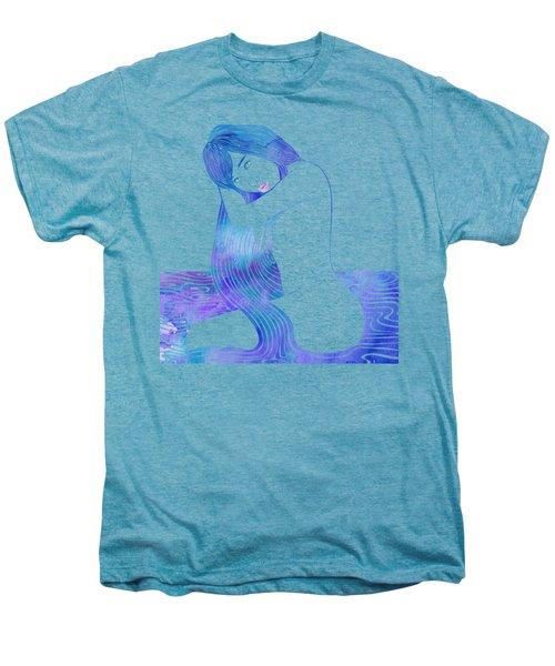 Water Nymph Lxxxii Men's Premium T-Shirt by Stevyn Llewellyn