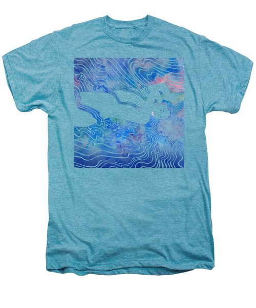 Water Nymph Lxxxiii Men's Premium T-Shirt by Stevyn Llewellyn