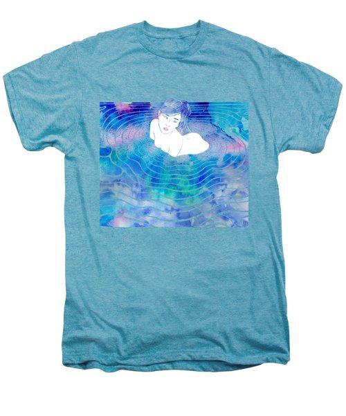 Water Nymph Lxxxix Men's Premium T-Shirt by Stevyn Llewellyn